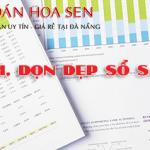 Hoàn chỉnh, dọn dẹp sổ sách kế toán tại Đà Nẵng