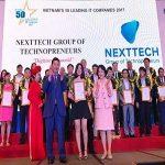 NextTech có mặt trong top 50 doanh nghiệp CNTT hàng đầu Việt Nam